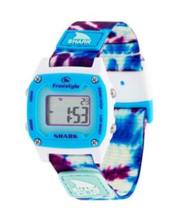 Freestyle Shark Mini Clip Tie-Dye Blue Daze Unisex Watch