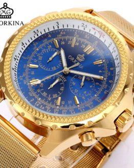 Business Mens Chronograph Japan Quartz Wrist Watches
