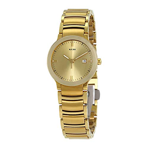 Rado Centrix Gold-Tone Ladies Watch