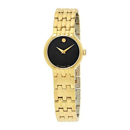 Movado Veturi Goldplated Stainless Steel Ladies Watch