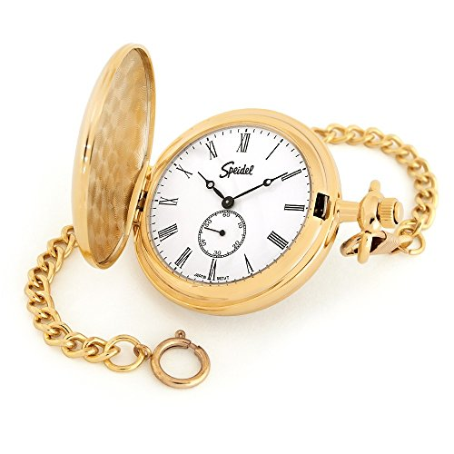 Speidel Classic Smooth Pocket Watch