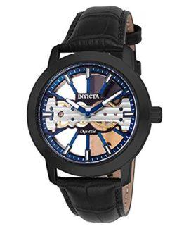 Invicta Men's Objet D Art Mechanical 2 Hand Blue, Black Dial Watch