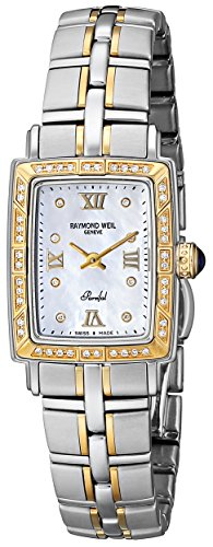 """Raymond Weil Women's """"Parsifal"""" 18k Gold-Plated Watch with Diamonds"""