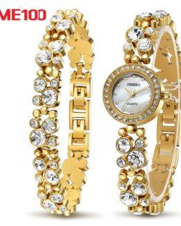 Time100 Women luxury Watches Bracelet Quartz Watch