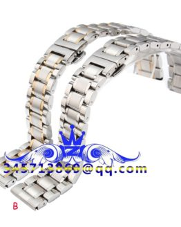 Free shipping Silver 18mm 19mm 20mm 21mm New Mens Stainless Steel Bracelet