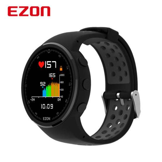 EZON T958 HD Color Screen Optical Heart Rate GPS Smartwatch