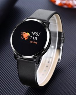 2019 New Smart Watch Men Q8 OLED Bluetooth Device Smartwatch