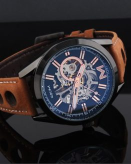 Fashion Brand Designer Men Skeleton Automatic Watches Self Winding