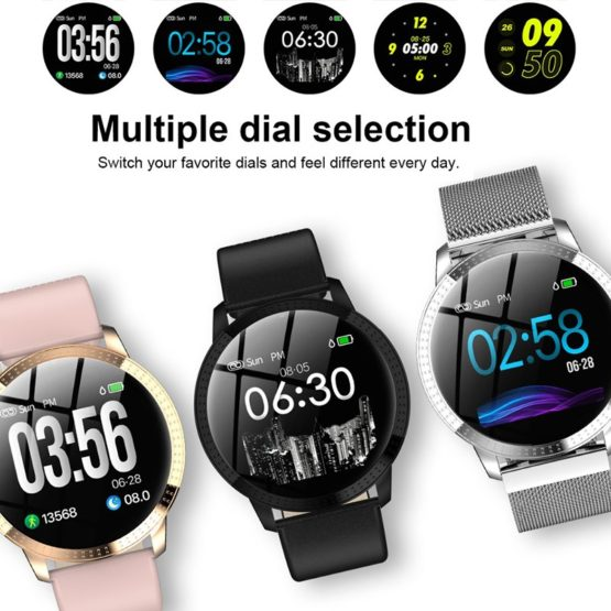 Smart watch IP67 waterproof Tempered Glass Activity Fitness Tracker Heart Rate