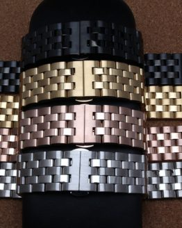New arrival men lady 20mm 22mm 24mm Watchband straps Gold Rose gold Black