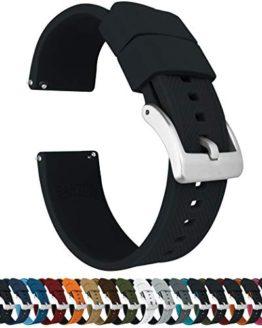 Barton Elite Silicone Watch Bands - Quick Release - Choose Strap Color & Width