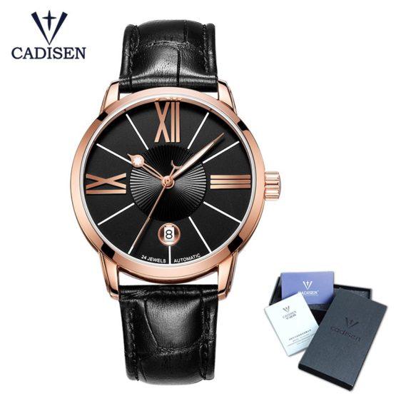 Cadisen Wrist Watch Men Top Brand Luxury Famous Male
