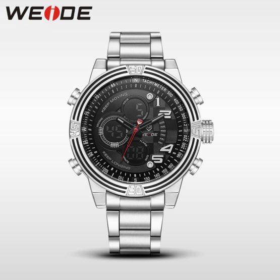 Weide luxury quartz sports wrist watch fashion & casual genuine business