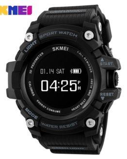 SKMEI Smart Watches Men Bluetooth Heart Rate Top Brand Sport Watch