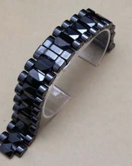 Men Size 19mm lug 10mm New High Quality Black Ceramic Watch Band
