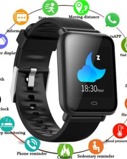 Q9 Smart Watch Waterproof IP67 Blood Pressure Heart Rate Monitor