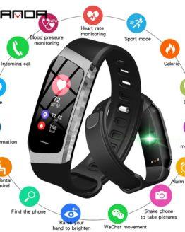 SANDA E18 Smart Watch IP67 Waterproof Heart Rate Monitor Blood Pressure