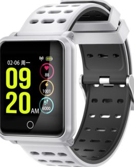 "Smart Watch Bluetooth Fitness IP68 Waterproof 1.3"" Color Screen Watch"
