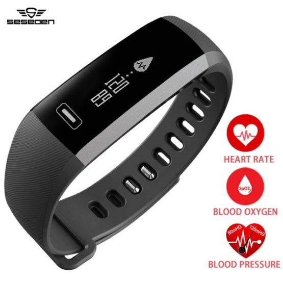 Watch men R5 pro Smart wrist Band Heart rate Blood Pressure