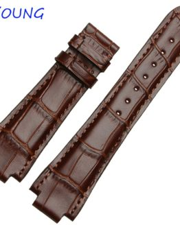 24mm High Quality Genuine Leather Watch Band