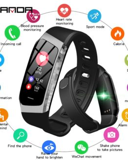 Smart Watch Waterproof Heart Rate Monitor Blood Pressure Smartwatch
