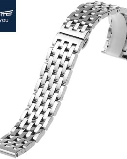 JEAYOU High Quality Stainless Steel Watch Strap Bracelet
