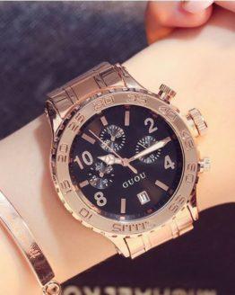 GUOU Rose Gold Watch For Women Watches Dress Wrist Watches