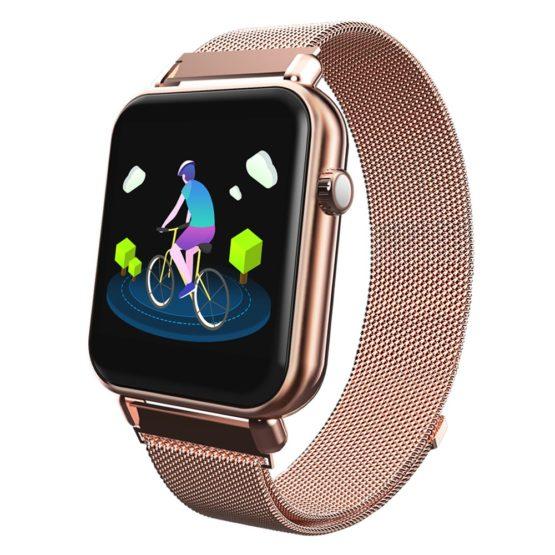 Steel Smart Watch Men Women Bluetooth Electronic Watches