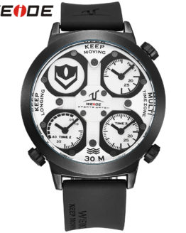 WEIDE Watch Men Sport Waterproof Relogios Masculinos De Luxo
