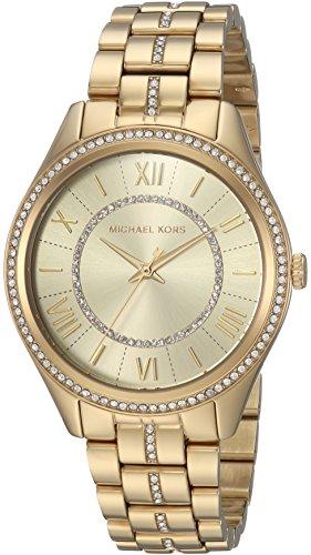 Michael Kors Women's Lauryn Gold-Tone Three-Hand Watch