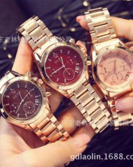 GUOU 2017 New Relogio feminino Women Luxury Brand Fashion watch