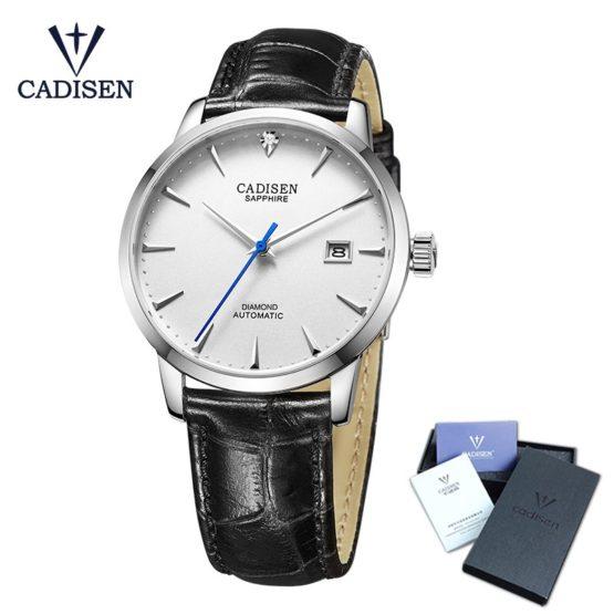 Cadisen Wrist Watch Men Top Brand Luxury Famous Male Clock