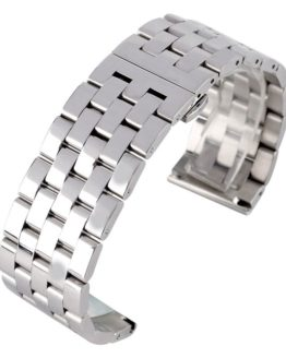 High Quality 24mm 26mm Solid Stainless Steel Men Watch Band