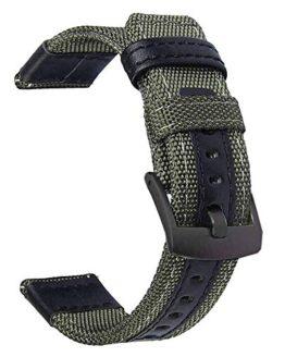 Premium Nylon NATO Canvas Fabric Replacement Watch Bands
