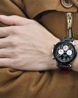 BENYAR Reloj Hombre Luxury Chronograph Quartz Watch Men