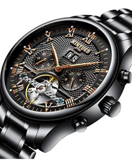 Luxury Watch Brands Skeleton Automatic Men's Wrist Watch Fashion