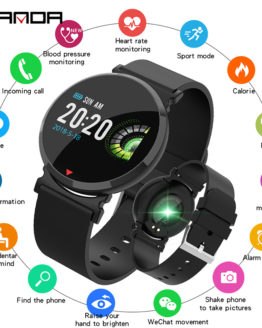SANDA New Bluetooth Sports Smart Watch Men Heart Rate Blood Pressure