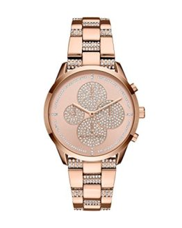 Michael Kors Women's Slater Analog-Quartz Watch with Stainless-Steel Strap