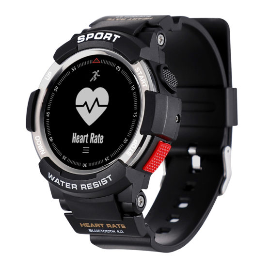 Military Sports Smart Watch Men Heart Rate Monitor Fitness