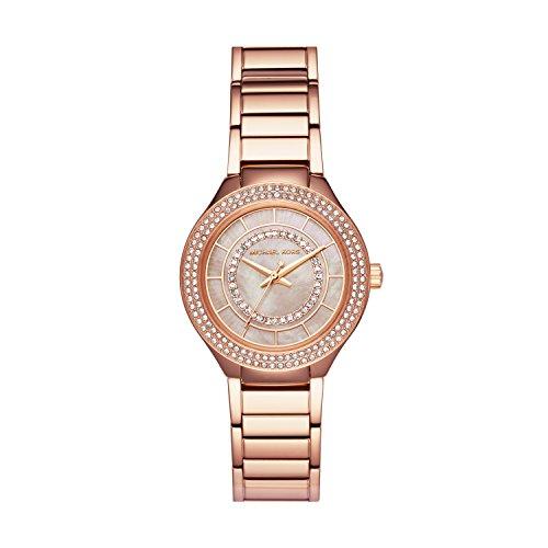 Michael Kors Women's Mini Kerry Watch Rose Gold Watch MK3802