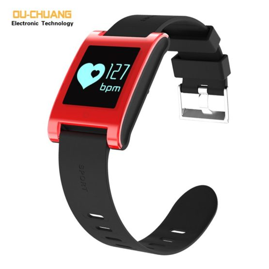 Men Women Sport Digital Smartwatch Heart rate Sleep Monitor Fashion