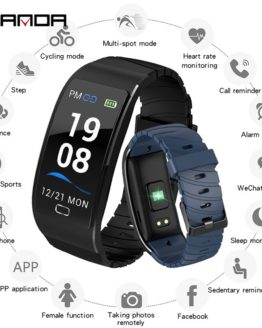 Smart Watch Waterproof Heart Rate Monitor Blood Pressure Fitness Smartwatch