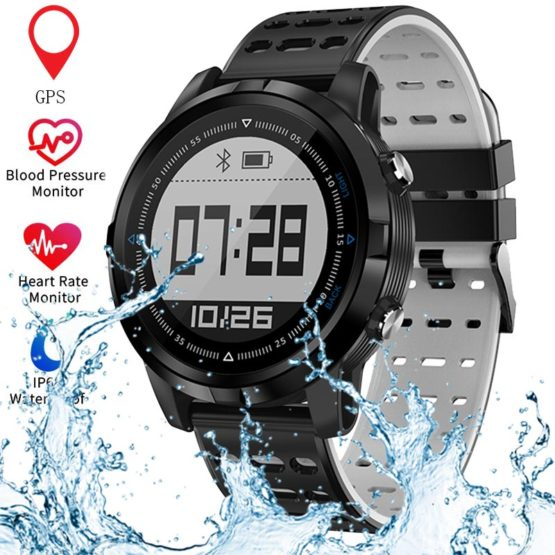 Bluetooth GPS Smart Watch Men Women Heart Rate Monitor