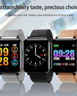 Men Watches M19 Smart Watch Blood Pressure Heart Rate Monitor Women Men