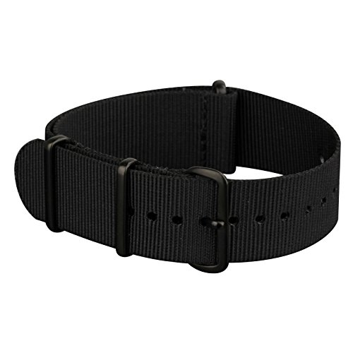 INFANTRY 20mm 22mm Nylon NATO Canvas Fabric Watch Band Strap