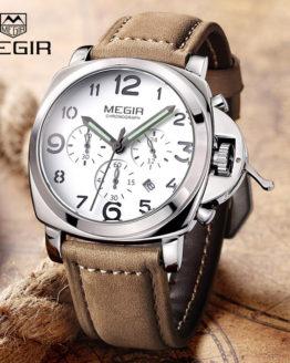 2017 New MEGIR Luxury Brand Quartz Watches Men