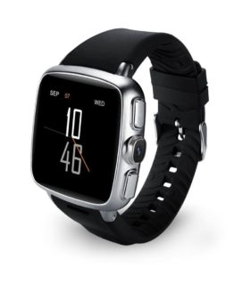 Heart Rate Smartwatch WIFI GPS Intelligent Clock Capacitive Touch Screen