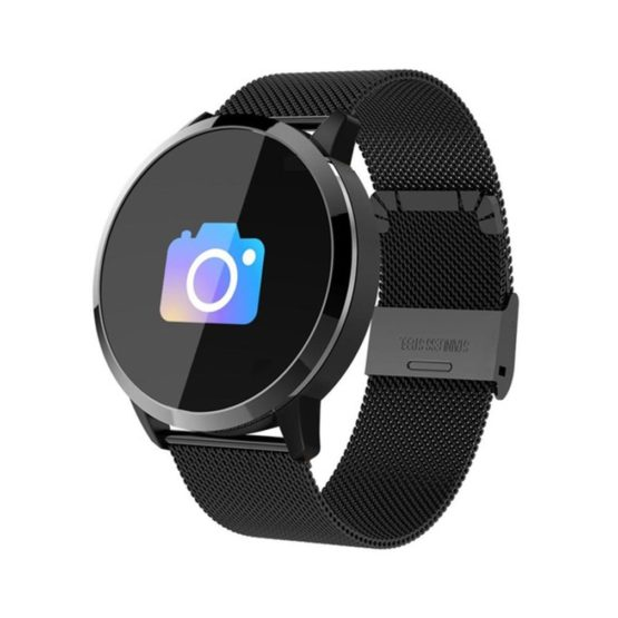 New Q8 Smart Watch OLED Color Screen Smartwatch Women Fashion