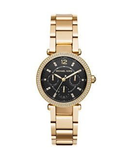 Michael Kors Women's Mini Parker Watch Analog-Quartz Stainless-Steel Strap