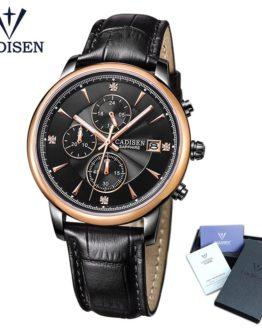 CADISEN Top Men Watches Luxury Brand Men's Quartz Hour Analog Sports Watch